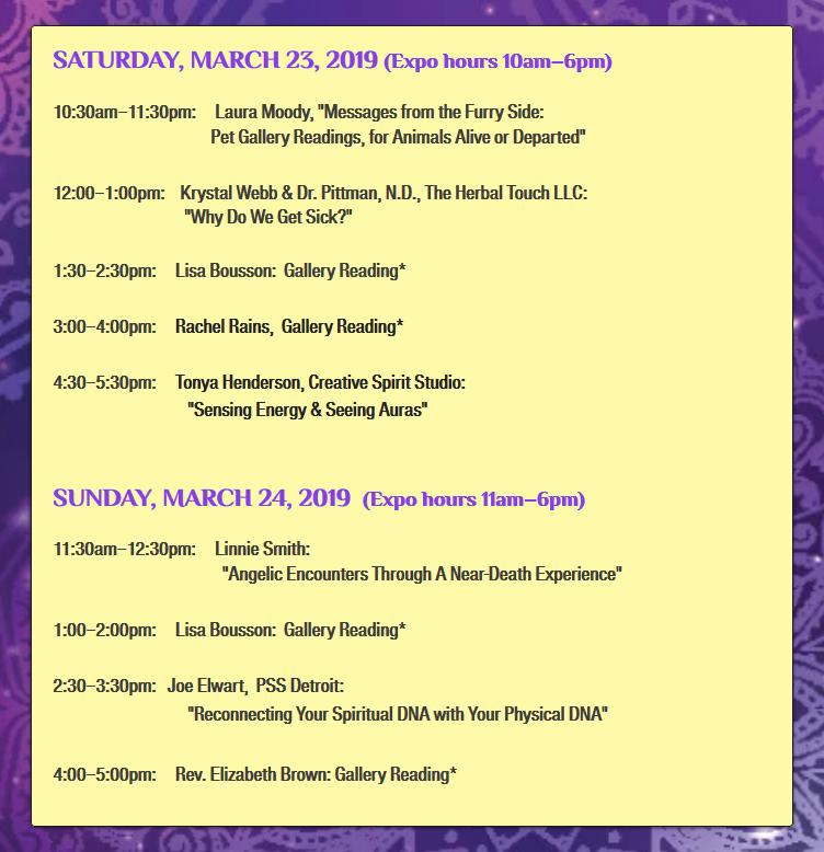 Enlightened Soul Expo – Ann Arbor